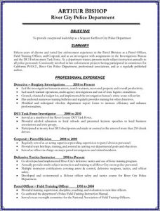 Resume sample image