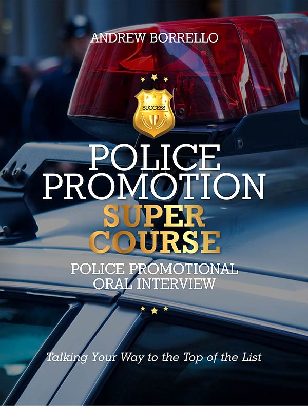 police promotion interview questions guide