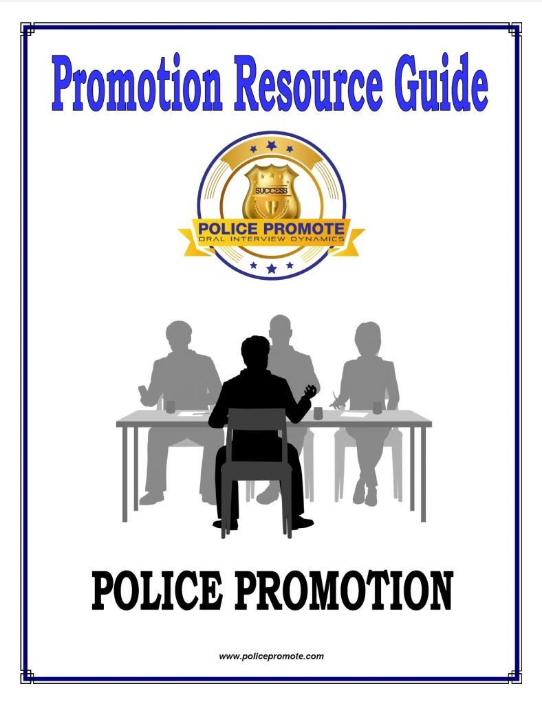 police promotion resource guide